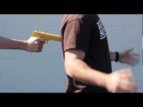 Black Scout Tutorials - Urban Tactics II - Pistol Disarm From the Rear II