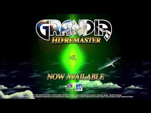 Trailer de Grandia HD Remaster
