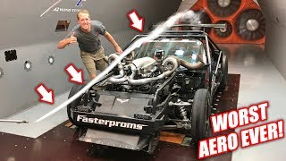We Put Leroy In a WIND TUNNEL! The Results Were HILARIOUS!