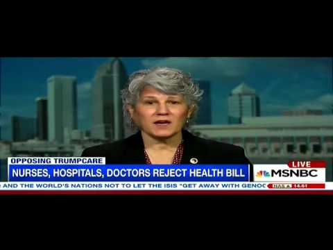 MSNBC TV Interview - American Health Care Act - ANA President Pam Cipriano