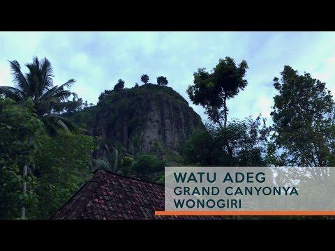 Video Mirip Grand Canyon, Inilah Pesona Alam Tersembunyi di Wonogiri