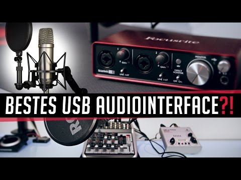Focusrite 2i2 (2nd Gen) - Bestes USB Audiointerface?!