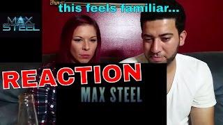 Max Steel Official Trailer 1 2016  Superhero Movie  Reaction