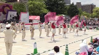 第42回ひろしまフラワーフェスティバル2018/5/4広島県警察音楽隊