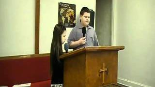 Tyler&Hannah Willis, Could You Walk A Mile. February 27, 2011.
