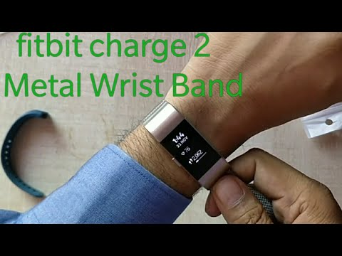 Metallic strap for Fitbit Charge 2