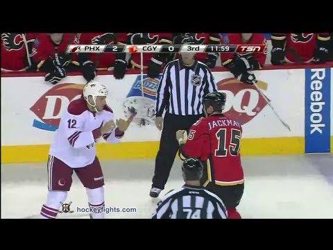 Tim Jackman vs. Paul Bissonnette