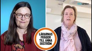 Rättvisa betyg –hur ska skillnaderna minska, Anna Ekström?