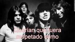 AC/DC- Rock 'N' Roll Singer subtitulado en español.
