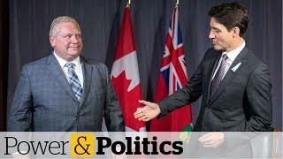 Trudeau moving the goalposts on climate change, Ford says   Power & Politics