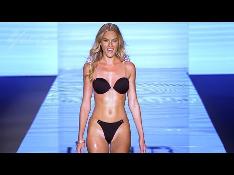 Monica Hansen Beachwear Bikini Fashion Show SS2019 Paraiso Fashion Fair Miami Swim Week 2018