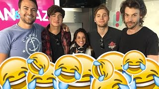 5SOS's Luke & Calum Hilarious Dan & Maz Interview