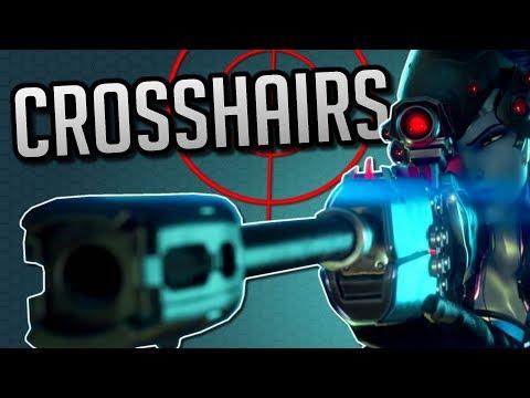 10 Cool Crosshairs For Overwatch! Plus Bonus Crosshair - смотреть