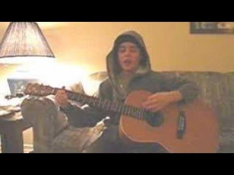 Justin singing Refine Me
