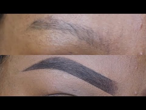 EYEBROW TUTORIAL (FOR OILY SPARSE BROWS) BRGINNER FRIENDLY