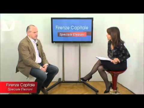 Firenze capitale - speciale elezioni, interviste ai candidati al consiglio comunale per le amministrative di Firenze 2014.