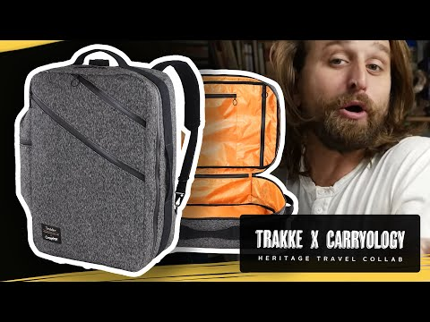 TRAKKE x CARRYOLOGY TRAVEL BACKPACK REVIEW