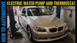 How to Replace the Electric Water Pump and Thermostat on a 2006-2013 BMW 335i