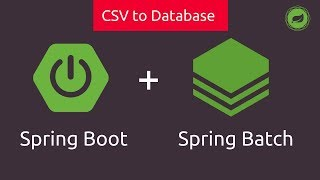 Spring Batch in Spring Boot   CSV to Database   Tech Primers