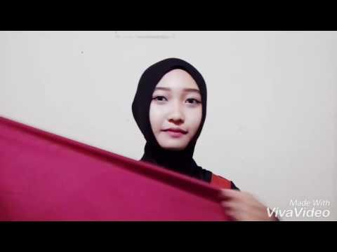Video Tutorial Jilbab Segi Empat Tanpa Jarum Pentul
