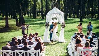 Самая красивая выездная церемония регистрации брака в Москве. Мона бутик.