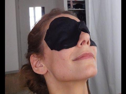 Les yeux battus à cause des lamblias