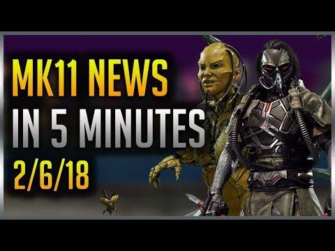 Mortal Kombat 11 Kabal & D'Vorah Confirmed, New Reveal, John Cena As