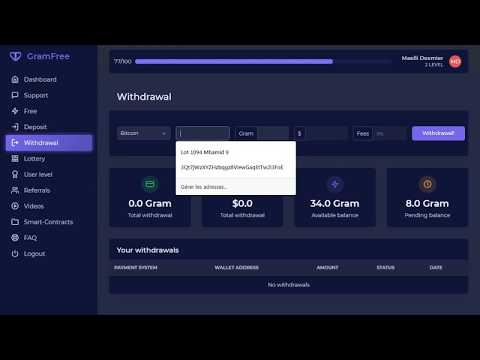 Gramfree earn money without investment