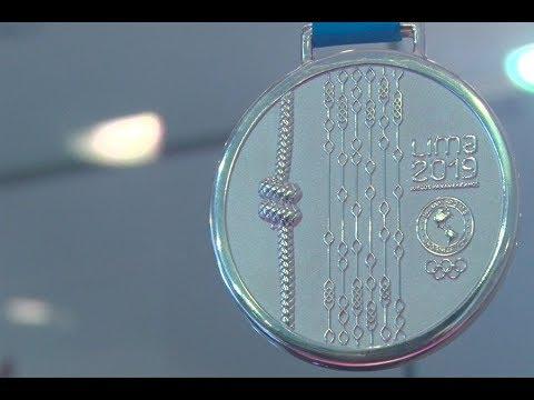 Lima 2019: Medallas con motivos peruanos para los ganadores