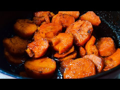 Southern Candied Yams recipe / how to make Southern Style Baked Candied Yams