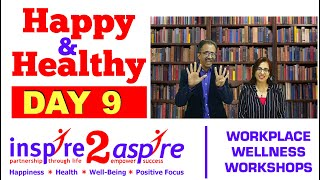 Continuous & Lifelong Learning, Intellectual Wellbeing, Growth - Happy Healthy Day 9