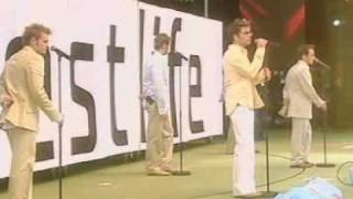 Westlife - Live @ Party in the Park - Flying Without Wings [07-07-2002]