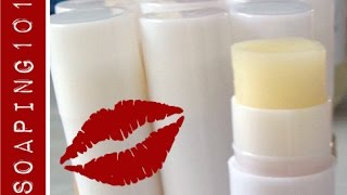 Kissable Lip Balm {free Recipe + Step By Step Instructions}