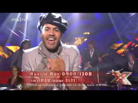 Alain Clark - Hold On (live bij X-factor)