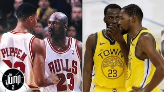 The 1990s Bulls overcame drama better than these Warriors - Scottie Pippen   The Jump