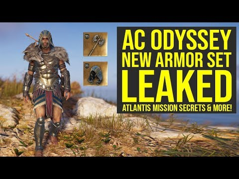 Assassin's Creed Odyssey DLC - New Gear LEAKED & Heir Of Memories Secrets (AC Odyssey DLC)