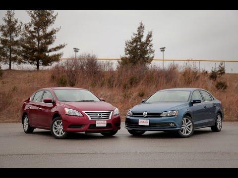 2015 Nissan Sentra vs. 2015 Volkswagen Jetta