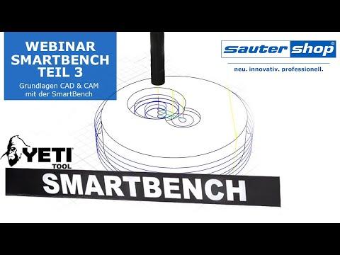 CNC Fräse SmartBench Webinar: Grundlagen CAD & CAM