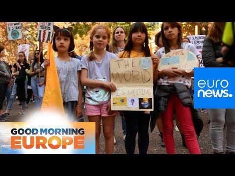 Over 1.4 million schoolchildren expected to strike over climate change worldwide