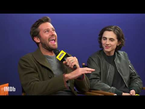 Armie Hammer Talks Short Shorts and Dancing in 'Call Me by Your Name' (2017) | IMDb EXCLUSIVE