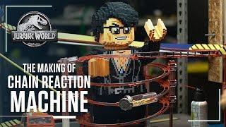 Behind The Scenes: Jurassic World Chain Reaction Machine | Jurassic World