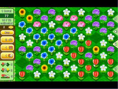 Video of Bouquets - puzzle flowers game
