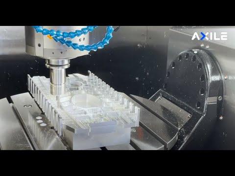 【AXILE Video】G6 Machining Wing Ribs