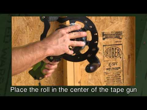 Load the ZIP System™ Tape Gun - English