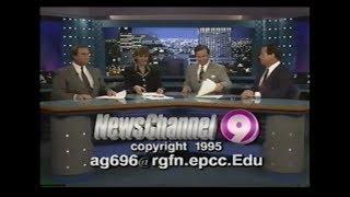 KTSM 10 PM News (November 30, 1995)