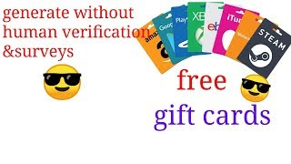 google play gift card code generator without human