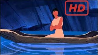 Pocahontas and Nakoma (Jumping Scene) HD | Homer