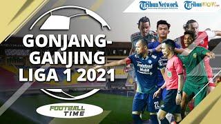 FOOTBALL TIME: Gonjang-ganjing soal Kompetisi Liga 1 dan Liga 2 2021