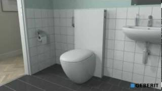 hmongbuy.net - Wall Hung and Wall Mounted Allia Paris toilet.