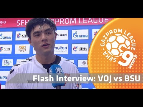 Flash interview: Vojvodina vs Beijing Sport University